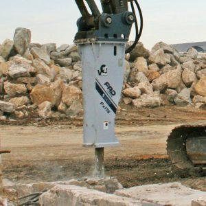 Fx175 breaking up concrete | Furukawa FRD